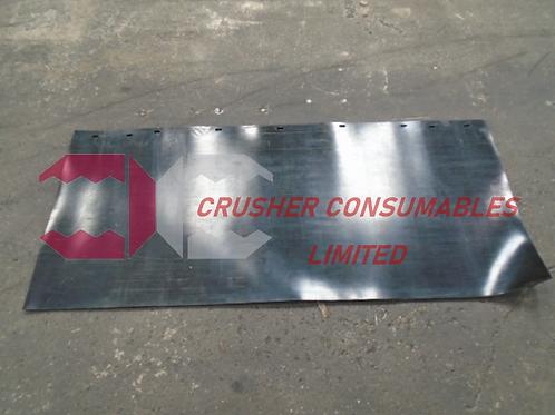 RU1328 Transfer chute rubber   EXTEC C10 /C10+ & SANDVIK QJ240 / QJ241