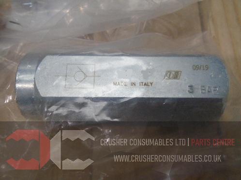 2589-2058 Check valve | TEREX PEGSON / POWERSCREEN 1300 MAXTRAK