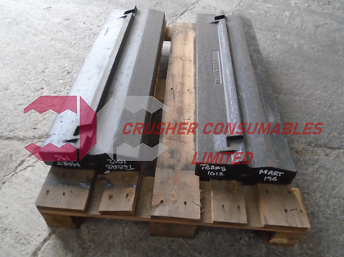 2-423-3 Blow bar / hammer - martensitic | Tesab 1012