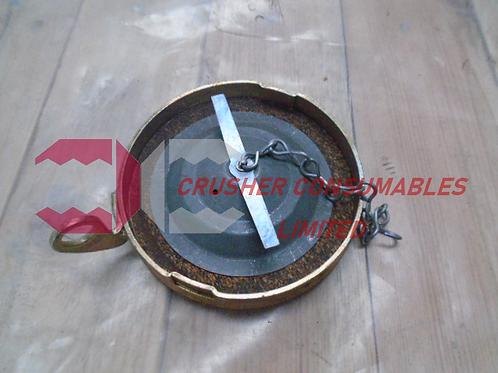 EN9595 FUEL CAP WITH PAD LOCK LATCH | SANDVIK / EXTEC