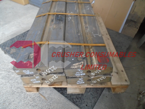 SL1270CR BLOW BAR / HAMMER - CHROME (27% CR)   504 / 1270   HARTL / ATLAS COPCO