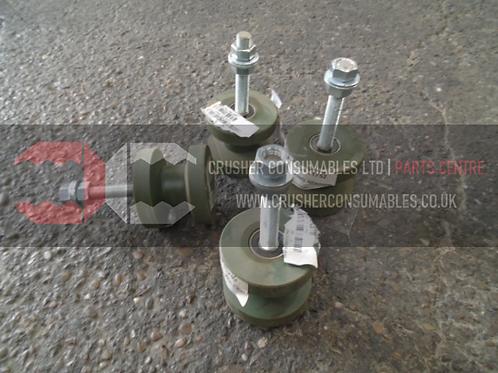 19.22.11752 Main conveyor tracking roller | TEREX FINLAY J-1160