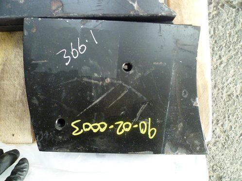 3-366-1 Wear plate | Tesab RK623