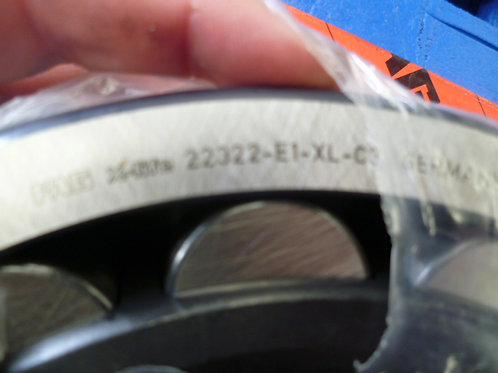 22322-E1-XL-C3 Spherical roller bearing | FAG