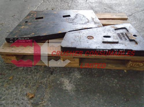 8240-70-5112 UPPER CHEEK PLATE LH 14% MN | KOMATSU BR380J
