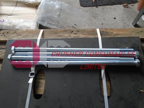 400.1138-001 SWING JAW BOLT  | FINTEC / SANDVIK / EXTEC 1107
