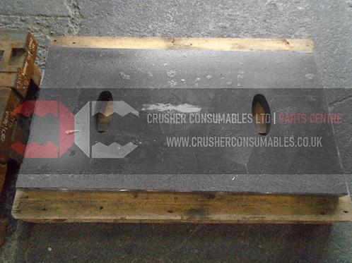 10-214-523-000 Toggle plate 600mm | SANDVIK CJ412 / JM1208 JAWMASTER (EXTEC)