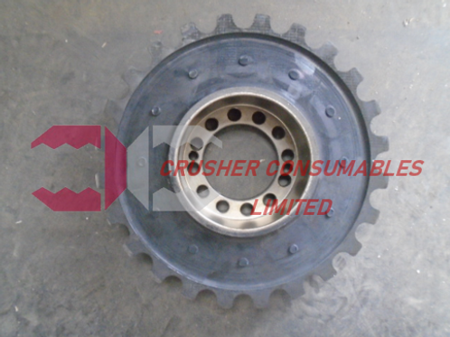 75109 RUBBER ELEMENT FOR 70589 COUPLING | RM80 | RUBBLEMASTER