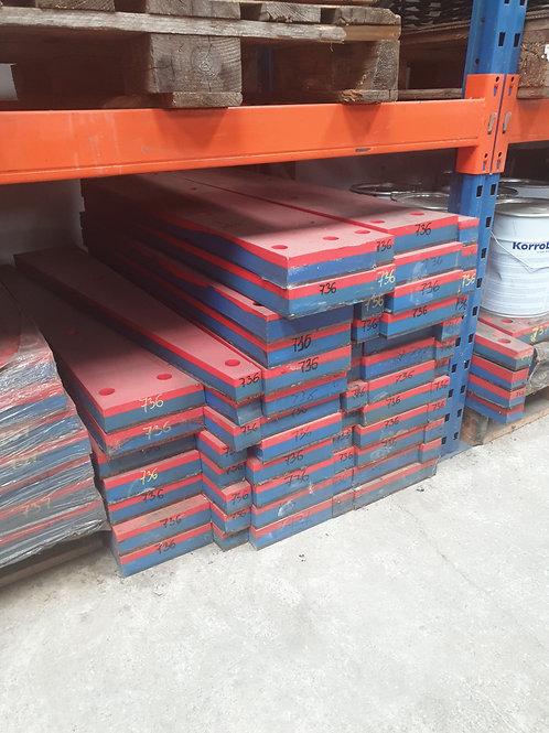 D7360000 IMPACT BAR RH | EXTEC / SANDVIK / FINTEC C10/QJ240