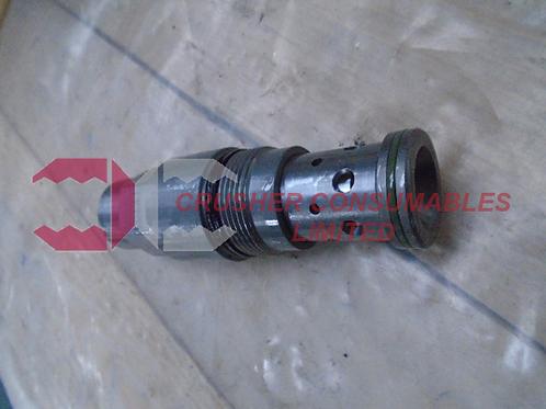 HV3518 Relief valve set to 200bar | Sandvik / Extec