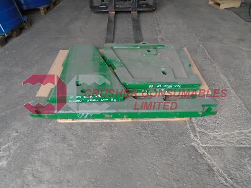 8248-70-5170 LOWER CHEEK PLATE RH 14% MN | KOMATSU BR500J