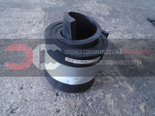 20.1175.06.01 Side rubber   TEREX FINLAY J-1160