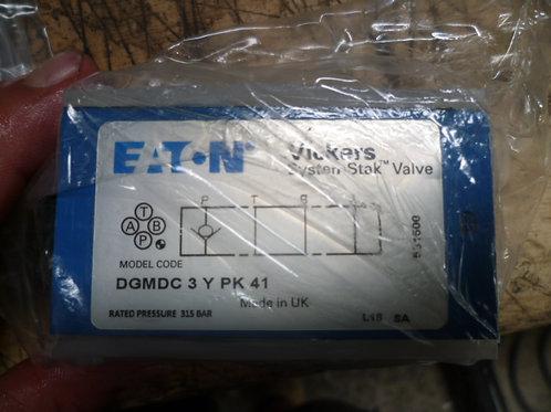 DGMDC 3 Y PK 41 Valve