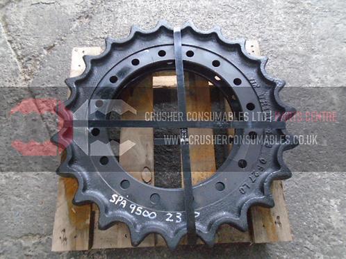 23420-M-15330 Rev A // Sprocket Assembly (UR160F123)   ITR