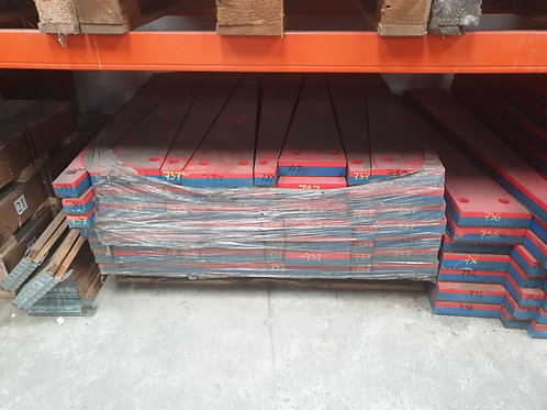 D7370000 IMPACT BAR LH | EXTEC / SANDVIK / FINTEC C10/QJ240