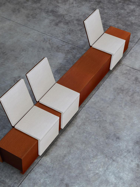 Metalco Cortomadere Seating
