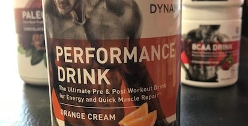 Dynamic Exercise Replenishment Drink