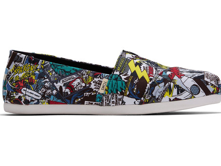 Toms x Marvel Limited Collection Just Launched