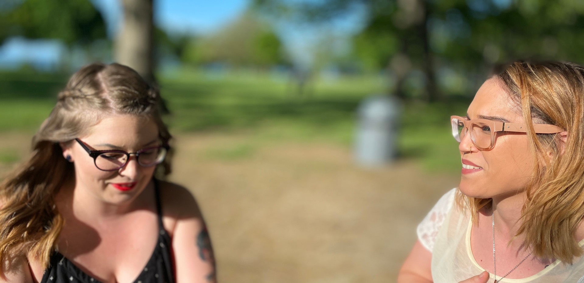 Betsey Johnson & Bobbi Brown