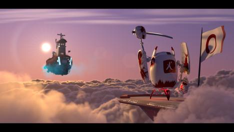 Pixar Lighting Challenge - Shipshape