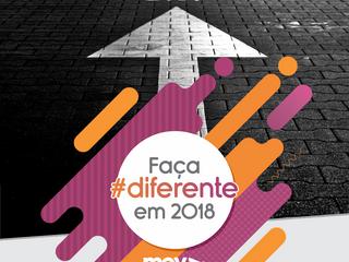 Faça #diferente em 2018