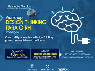 Workshop mostra como utilizar o Design Thinking para desenvolver líderes