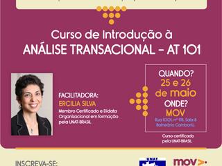 Curso de Introdução à Análise Transacional –nova turma em maio!