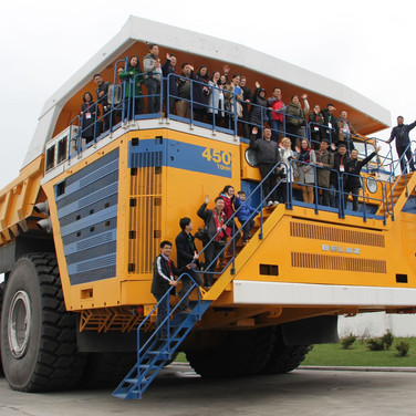 BELAZ excursion from Minsk. Price from 80 eur.
