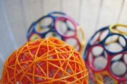 An assortment of balls