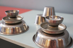 Assortment of stainless steel object