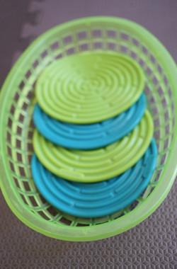 Silicone coasters