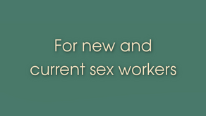 Link Resources - For new and current sex workers