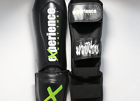 Experience Premium Leather Shinguards