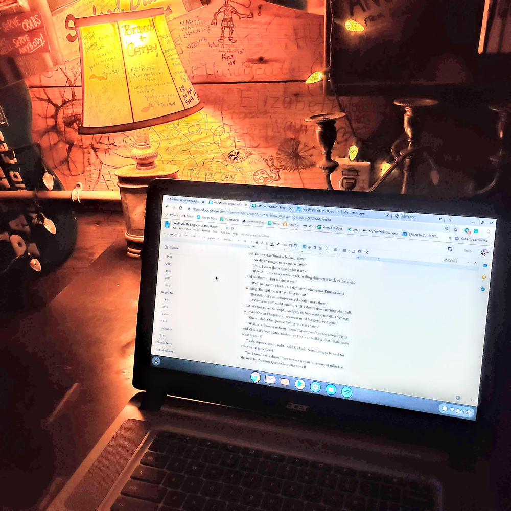 Writing at the Fat Pelican