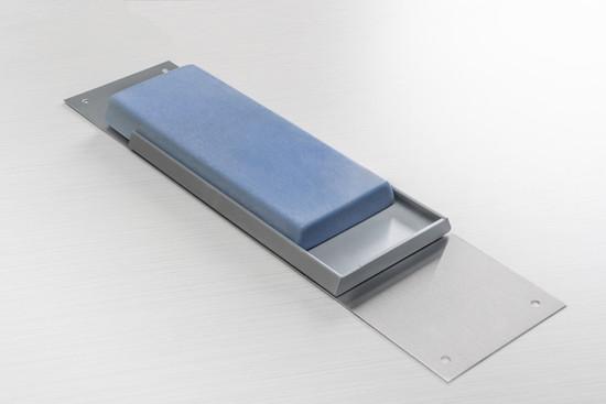 Antimicrobial CSC door push plate