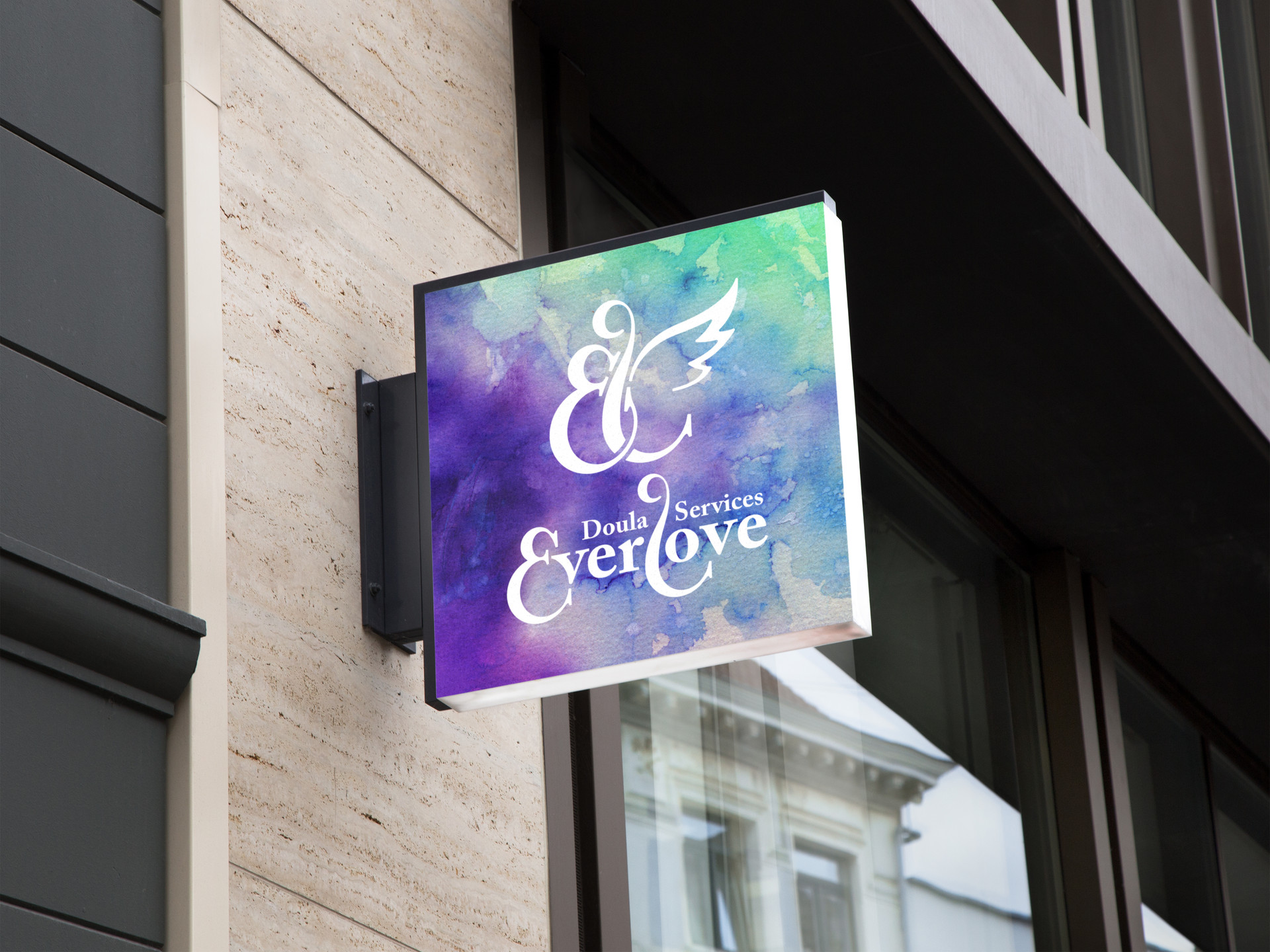 Everlove Hanging Wall Sign MockUp.jpg