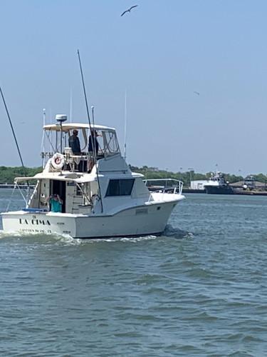 La Cima at Sea | Angler Charters Galveston, TX