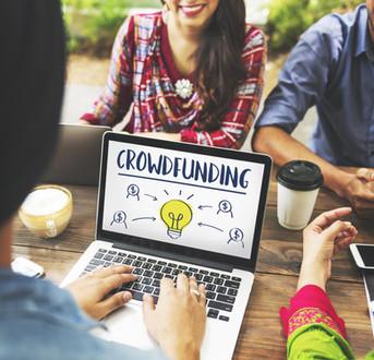 Crowdfunding Money Business Bulb Graphic