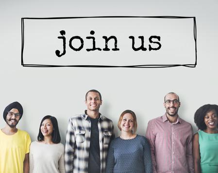 Join Us Team Recruitment Register Member