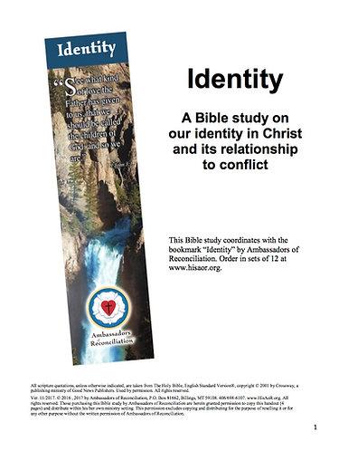 Identity - Reproducible Bible Study