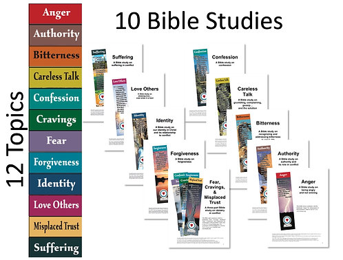 Reproducible Bible Study Bundle - Set of 10