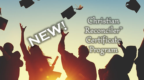 Christian Reconciler™ Membership - Professional Level Upgrade1