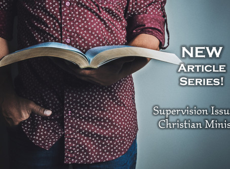 Supervision in Christian Ministry