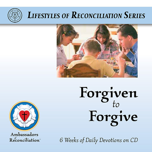 Forgiven to Forgive Devotional CD