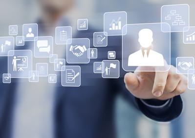 Human resources (HR) management concept