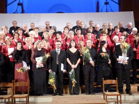 Oratorio Chant'Cours et les solistes