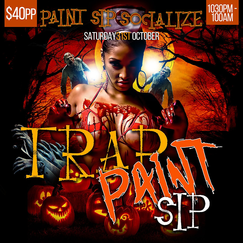 OCTOBER TRAP PAINT SIP