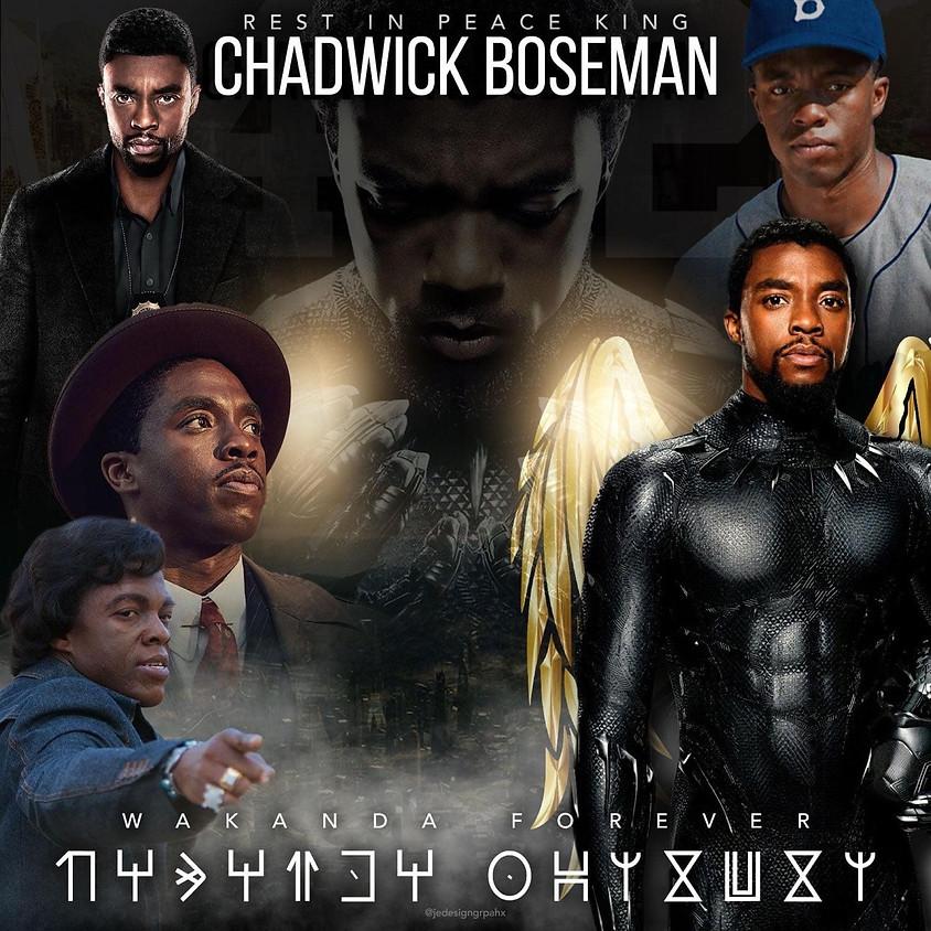R.I.P Chadwick Boseman 3pm