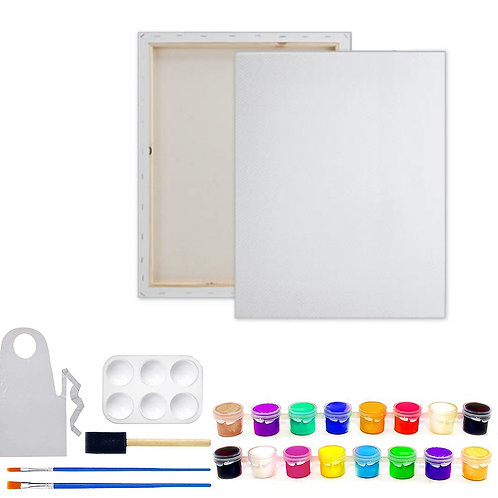 Non-Sketched Blank Canvas w/Paint it Yourself Kit included