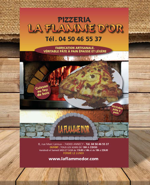 Pizzeria La Flamme d'OR